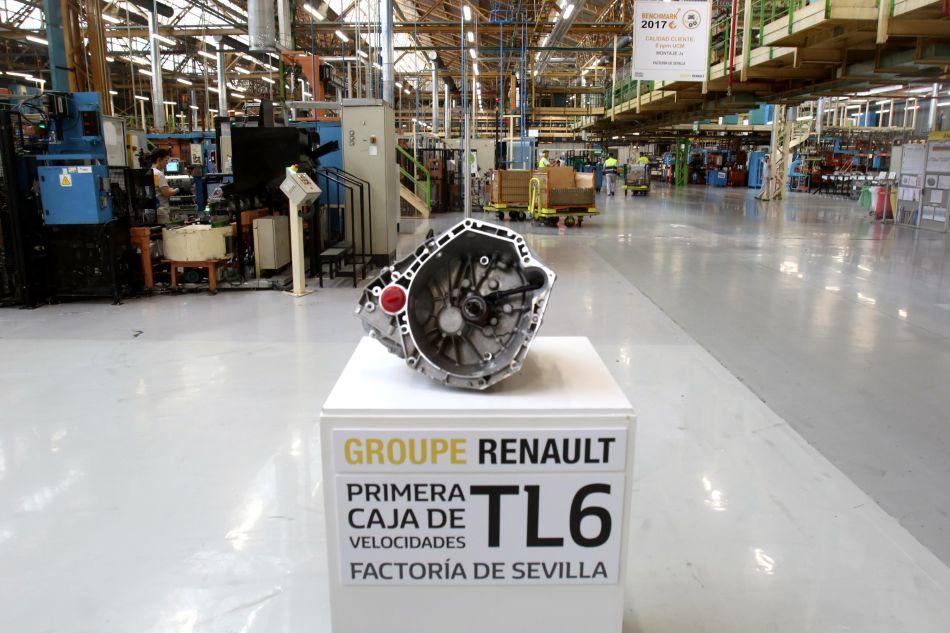Nueva Caja de Cambio Renault TL6 producida en Sevilla