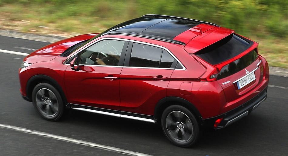 El poderoso SUV Mitsubishi Eclipse Cross 2018