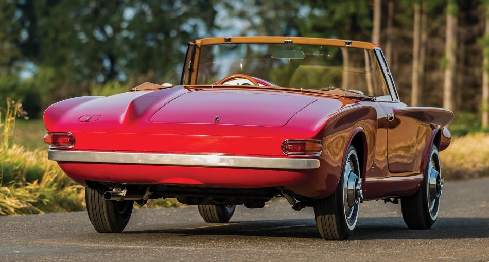 Este Plymouth Asimmetrica del 1961 será subastado