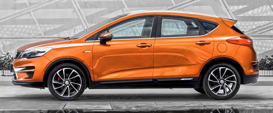 Te presentamos otro SUV de la marca china Geely, el Emgrand GS