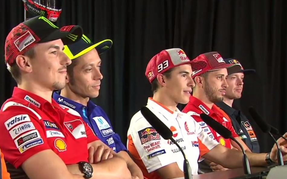 Rueda de prensa del Gran Premio de Austria