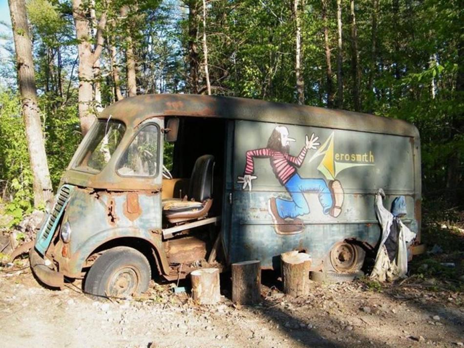Historia de la furgoneta de Aerosmith