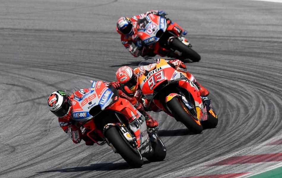 El mundial de MotoGP llega a Silverstone