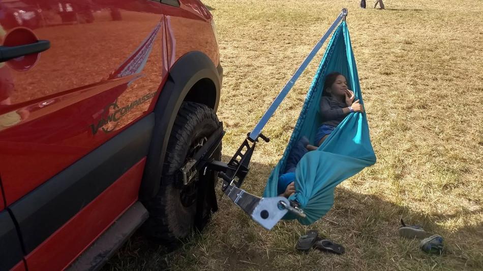 ¿Sabías que hay una hamaca para autos? te la presentamos