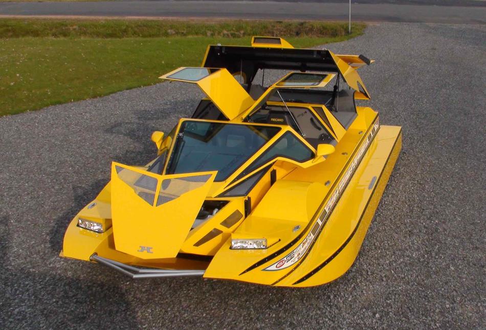 El Dobbertin HydroCar, un coche anfibio