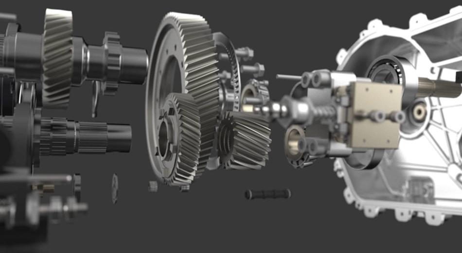 Kreisel presenta una nueva transmisión para coches eléctricos
