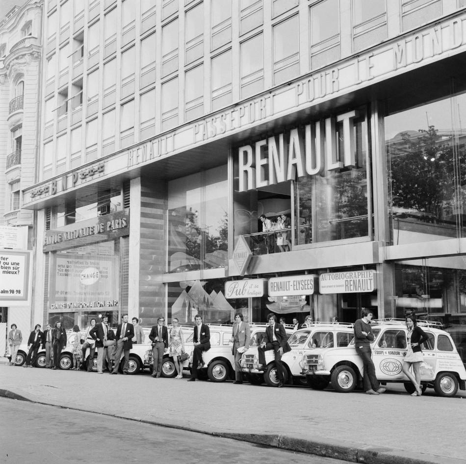 La historia de la marca automotriz Renault, Parte 2
