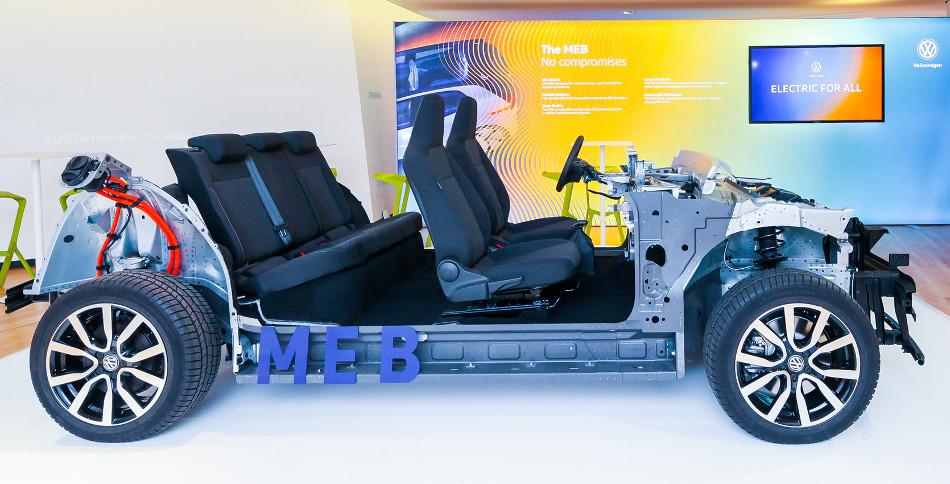 Te traemos información sobre la plataforma MEB de Volkswagen