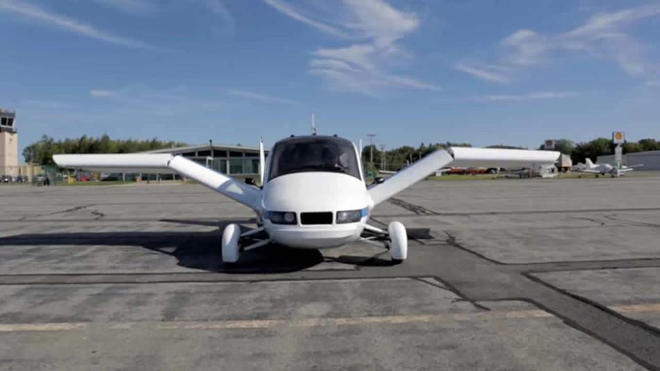 El auto volador Terrafugia Transition será lanzado a la venta en el 2019