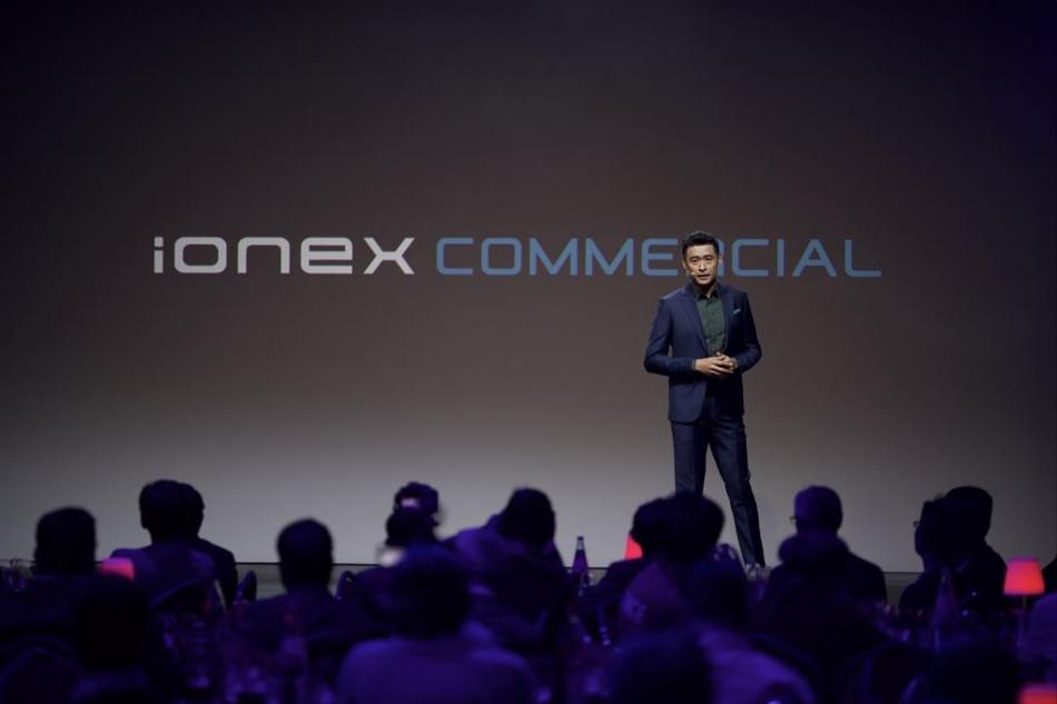 Kymco presentó la plataforma Ionex Commercial en París