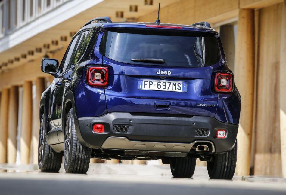 Jeep Renegade contará con una versión híbrida enchufable en el 2020