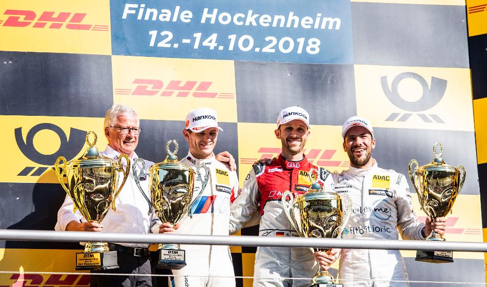 Gary Paffett se convierte en bicampeón del DTM