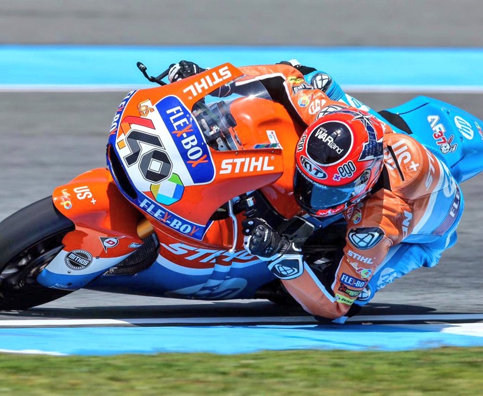 Iker Lecuona domina el viernes en Moto2