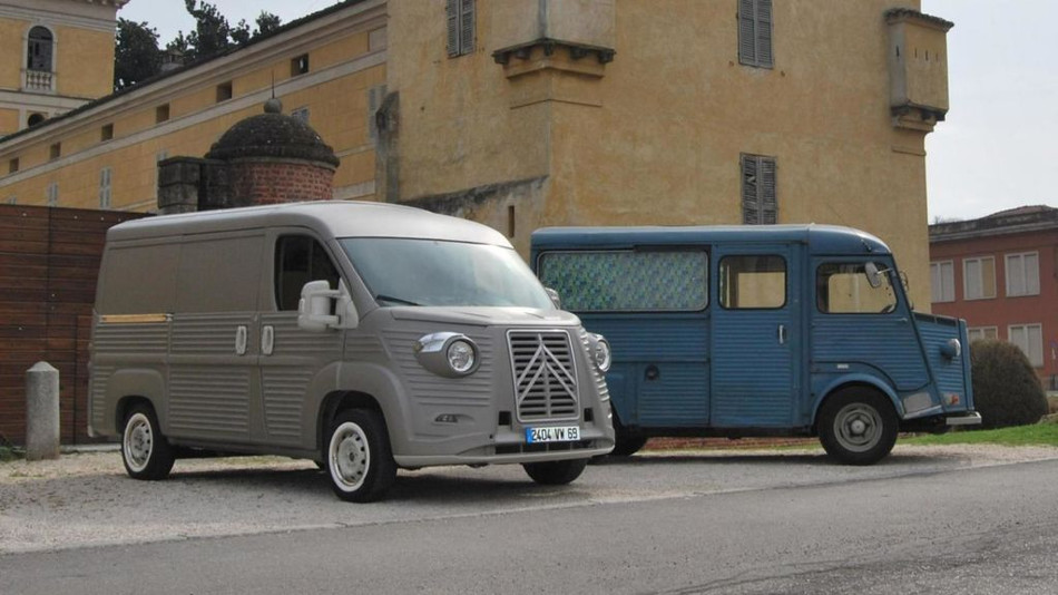 Citroën serie H y su andadura por el tiempo