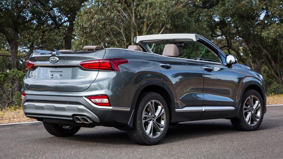 ¿Hyundai Santa Fe Convertible? Qué interesante