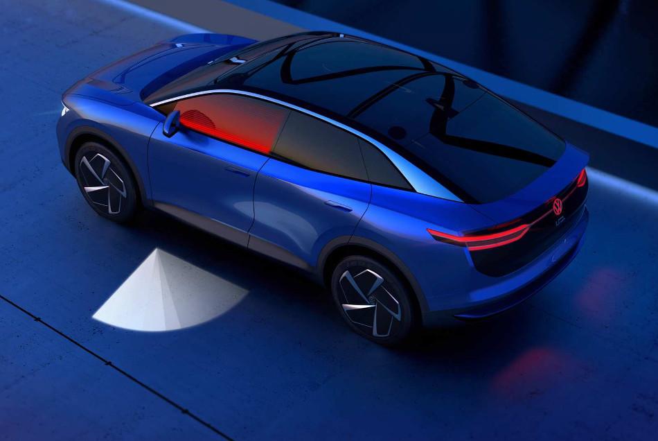 Volkswagen y sus nuevas luces interactivas