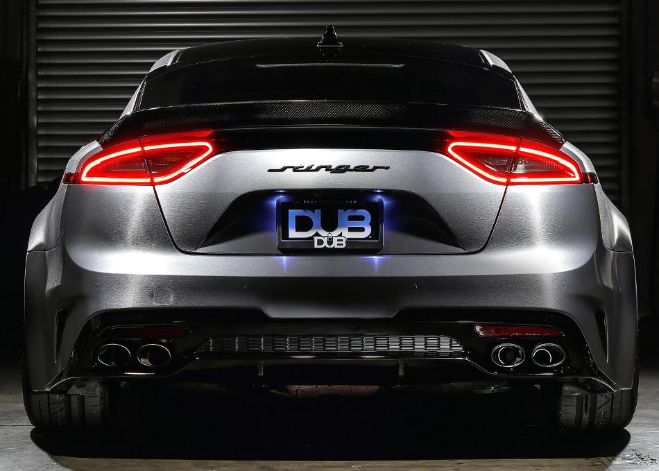 El 2019 nos traerá el nuevo DUB Kia Stinger GT