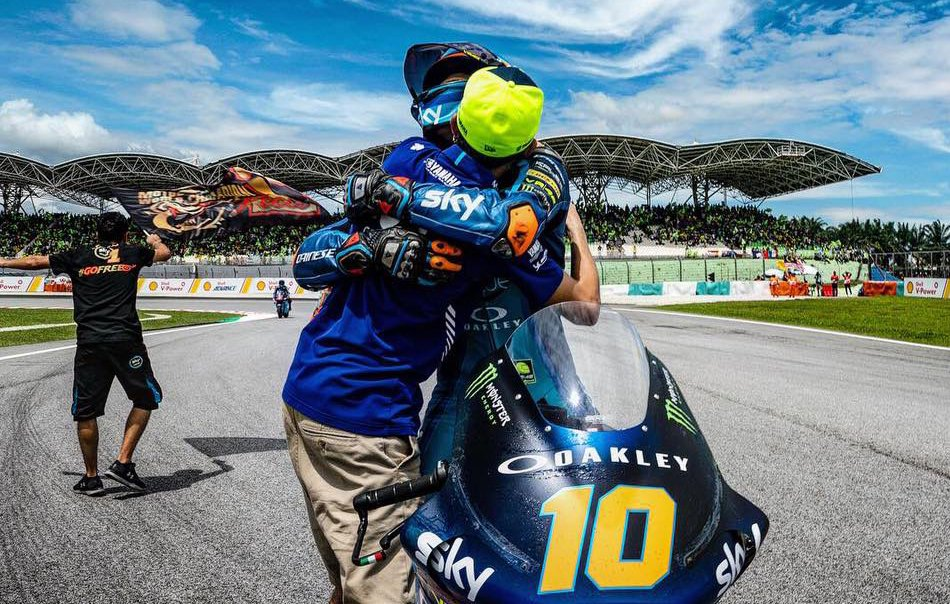 """Luca Marini: """"Luchar por el título en 2019 debe ser mi objetivo"""""""
