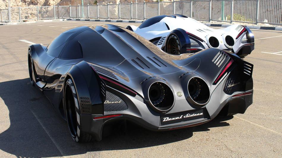 Devel Sixteen, un auto con mas de 5000 caballos de fuerza