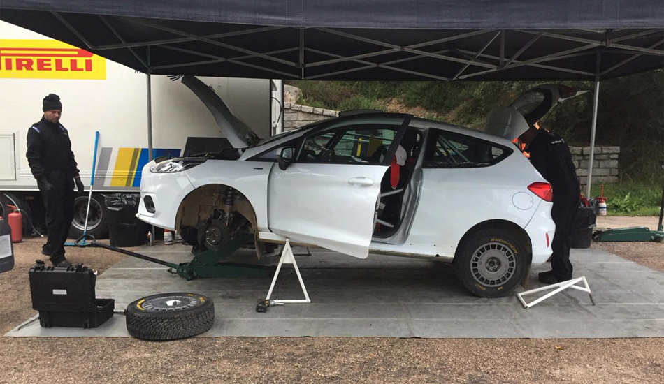M-Sport ultima el desarrollo del nuevo Ford Fiesta R2 2019