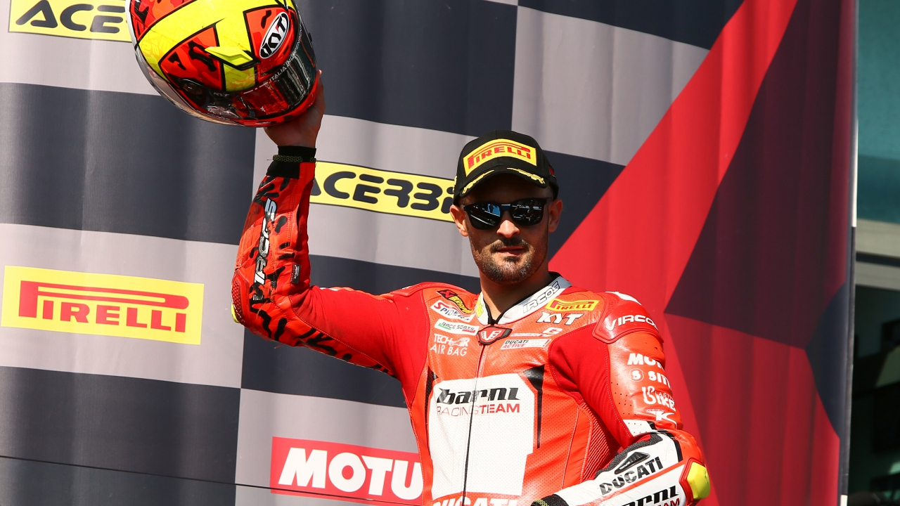 Xavi Forés, al British Superbike