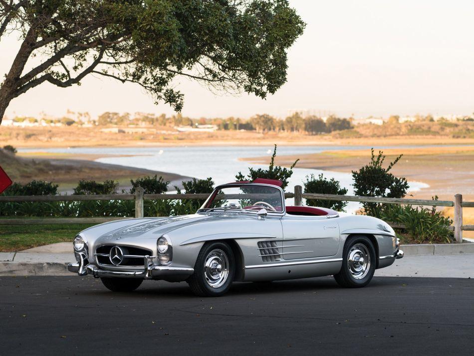 Mercedes 300 SL Roadster, el coche más bello de la historia automotriz