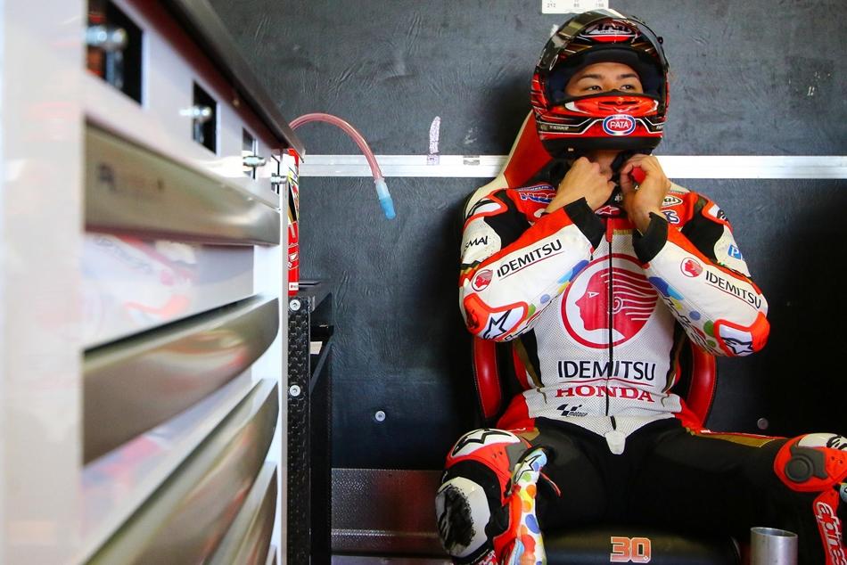 """Takaaki Nakagami: """"Con esta moto todo es más fácil"""""""