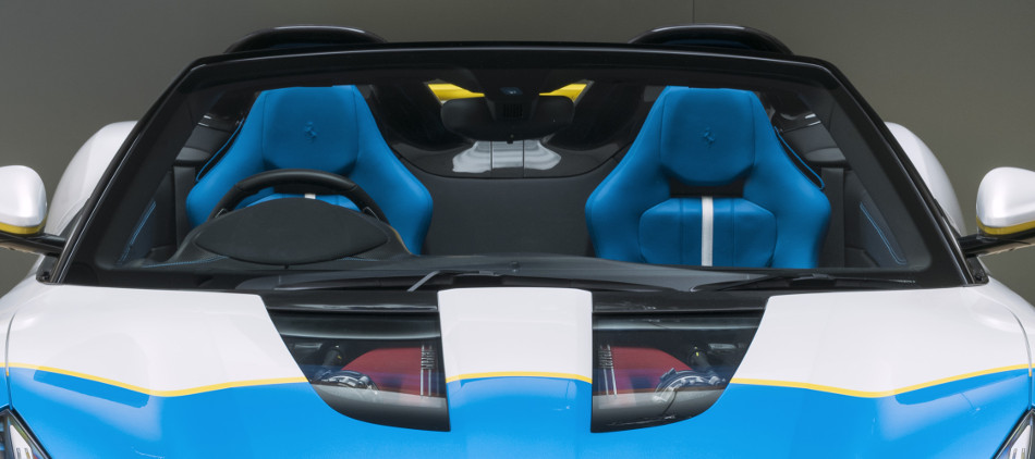 Enamórate del Ferrari SP3JC