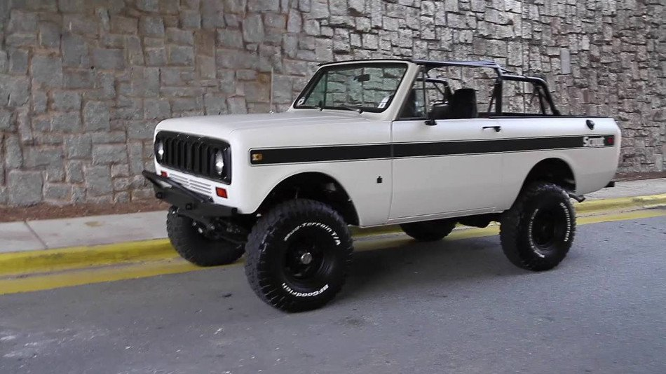 El histórico International Harvester Scout