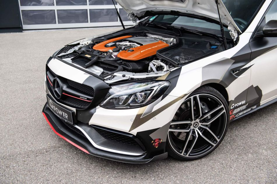 Para los más exclusivos G-Power presenta su Mercedes-AMG C 63 S