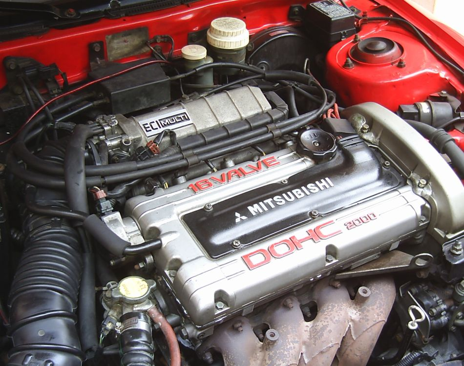 Mitsubishi y la historia de sus coches con motor 4G63, primera parte