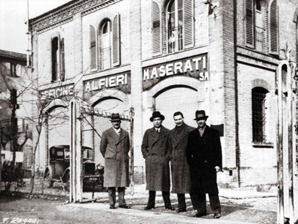 Historia de la marca automotriz Maserati