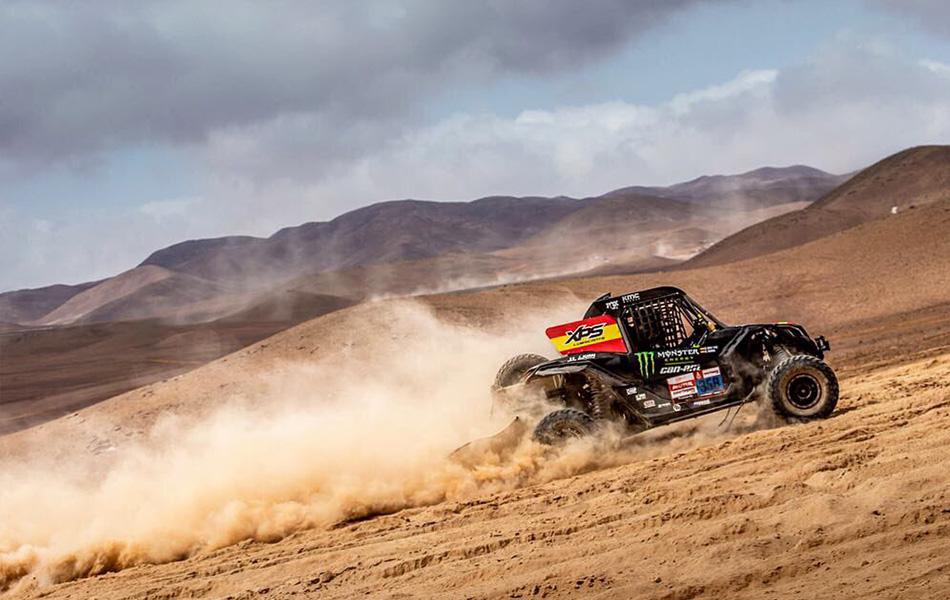 ¡Gerard Farrés y Dani Oliveras se ponen líderes del Dakar 2019!