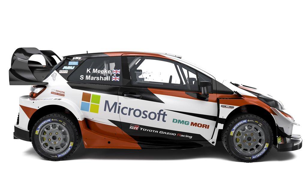 Los equipos del WRC presentan sus colores de guerra para 2019