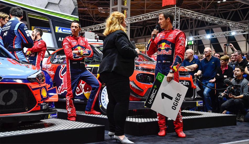 Los pilotos del Mundial de Rallies escogen sus dorsales