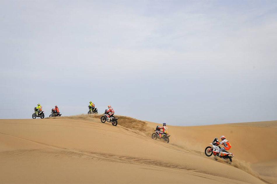 Michael Metge gana en la novena etapa del Dakar
