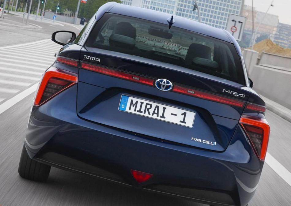 Conoce el nuevo Toyota Mirai 2019