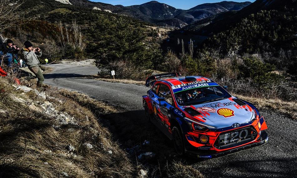 Sébastien Ogier y Julien Ingrassia ganan el Rally Monte-Carlo más apretado