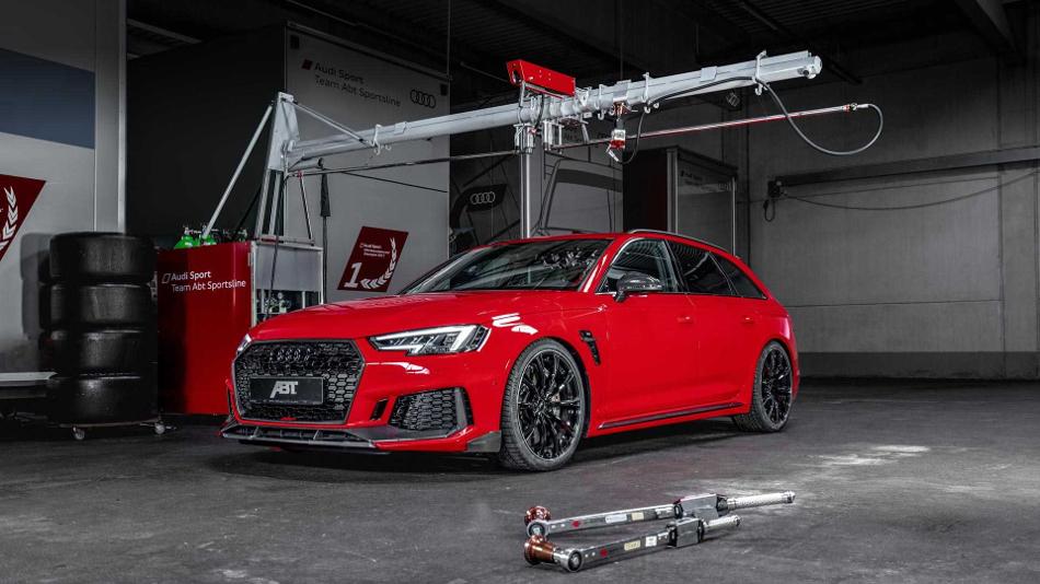 Audi RS4+ el nuevo ajuste de ABT