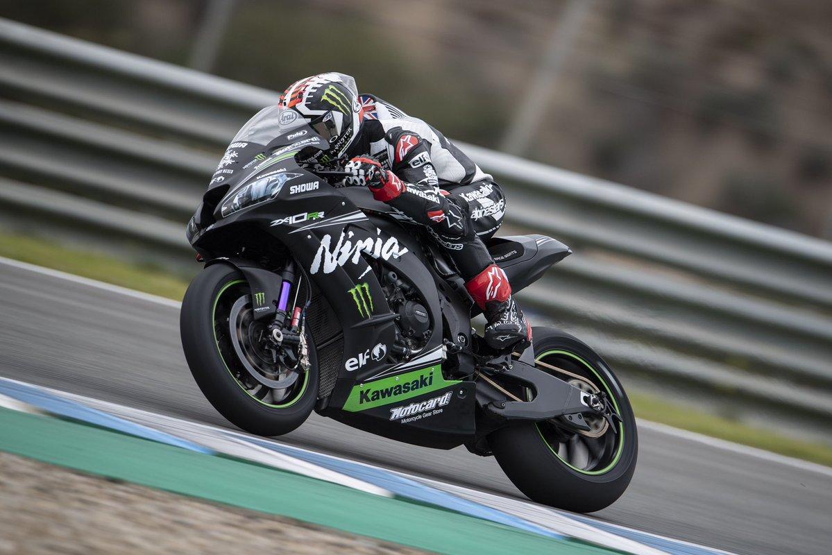 Rea y Lowes marcan el ritmo en Jerez