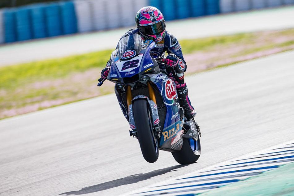 "Alex Lowes: ""Me he sentido bien con la moto"""