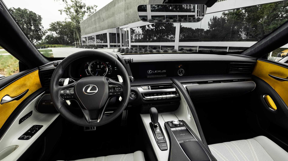 El Lexus LC 500 Inspiration Edition 2019 para América