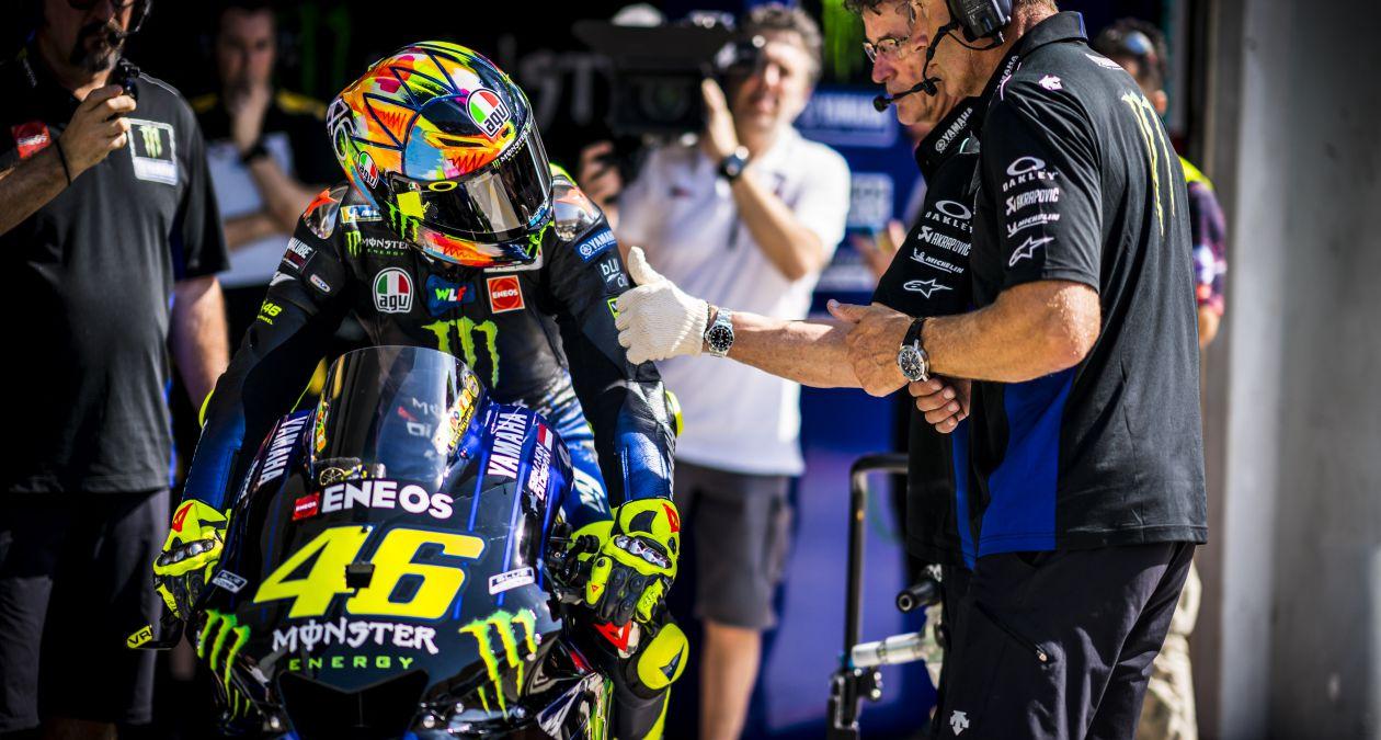 """Valentino Rossi: """"Hicimos algunas mejoras respecto al año pasado"""""""
