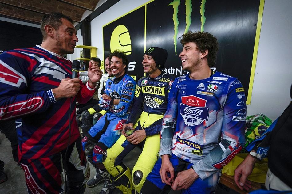"""Valentino Rossi: """"Cuando creé la academia, nunca pensé que podrían llegar a ganarme"""""""