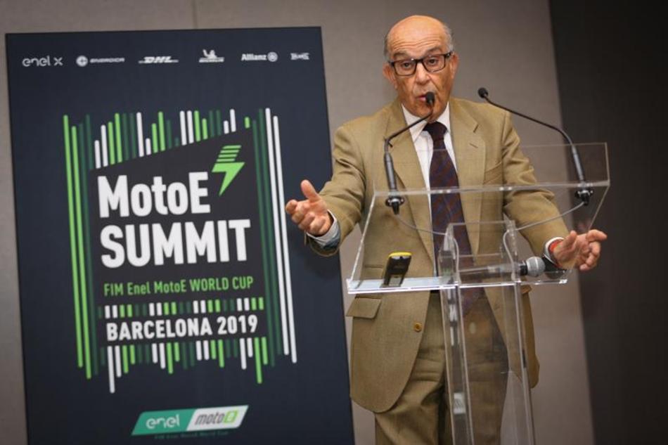 MotoE celebra su primera cumbre en Barcelona