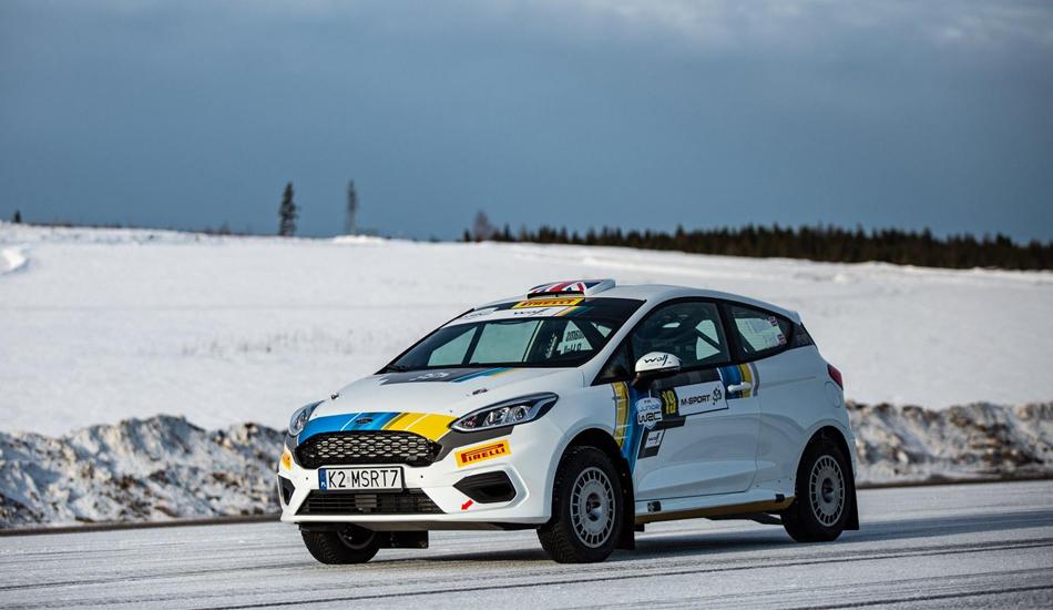 El Junior WRC 2019 se pone en marcha en el Rally de Suecia
