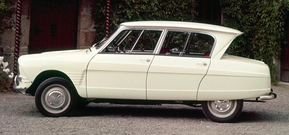 Disertando la historia del Citroën AMI, primera parte