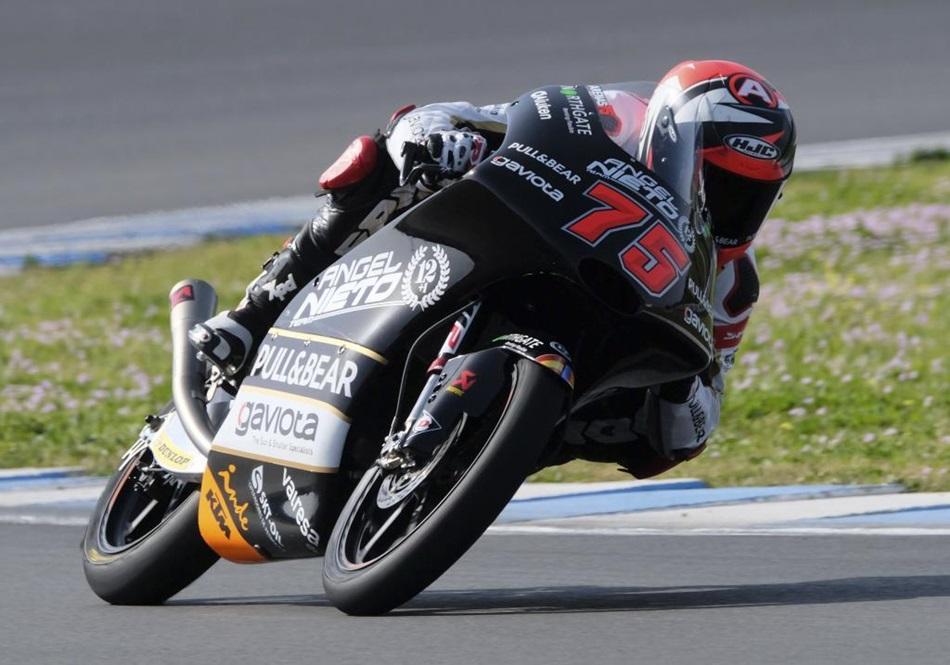 Los pilotos de Moto3, listos para 2019