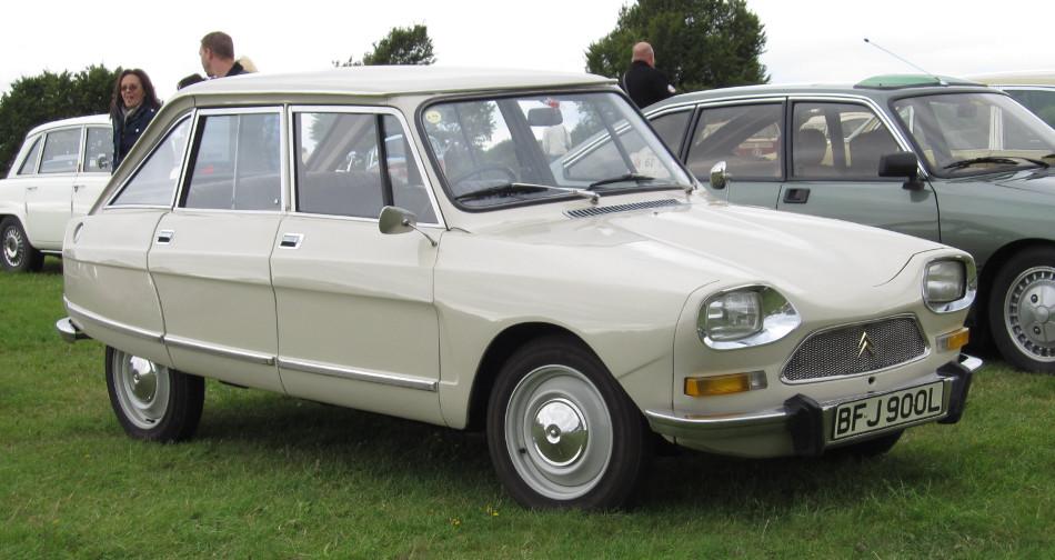 Disertando la historia del Citroën AMI, segunda parte