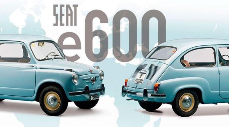 El histórico Seat 600 vuelve a la acción